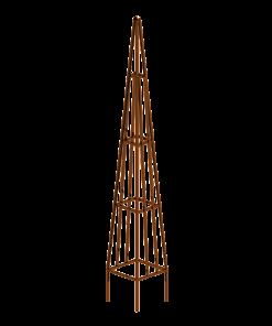 rust-easel-obelisk-metal-plant-trainer